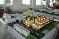 Advertising Use Residential Building Model With LED Lighting System